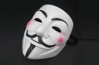 V wie Vendetta Maske für Anonymous Verkleidung