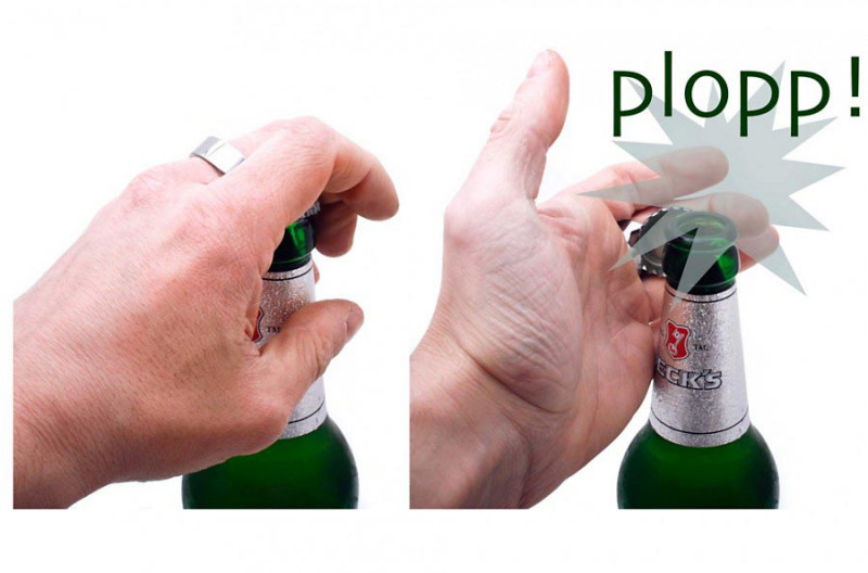 Flaschenöffner Ring