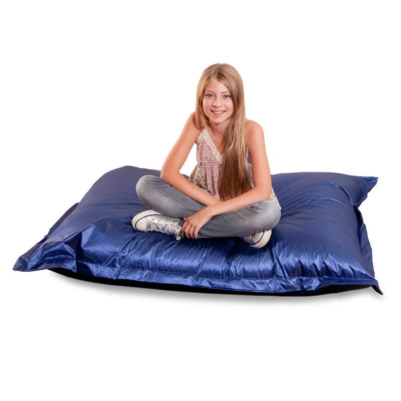 Sitzsack Junior Metallic Blau