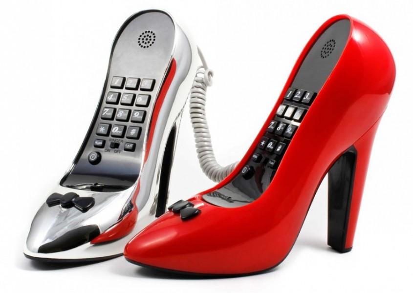 high heel telefon st ckelschuh pumps design g nstig kaufen. Black Bedroom Furniture Sets. Home Design Ideas