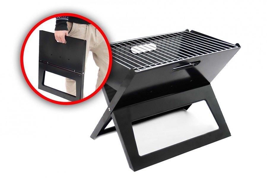 Faltbarer Notebook Grill BBQ Klappgrill