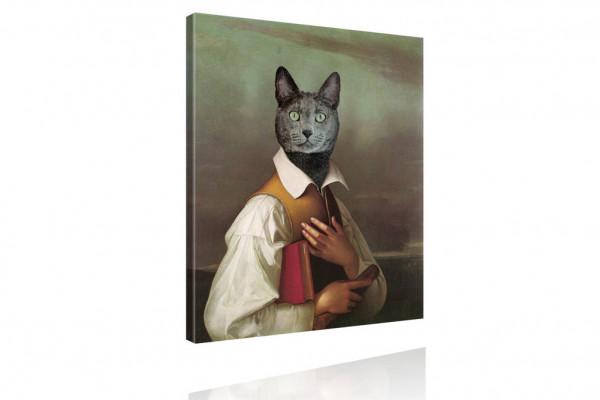 Kunstdruck: Gemälde mit Twist - Lebemann von Katz