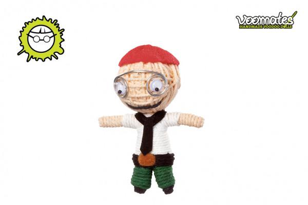 Voodoo Puppe - Voodoopuppe zum Sammeln - Büro Nerd