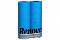 Blaues Toilettenpapier » 6 Rollen Renova Klopapier Blau