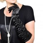 20er Jahre lange Handschuhe Charleston Kostüm
