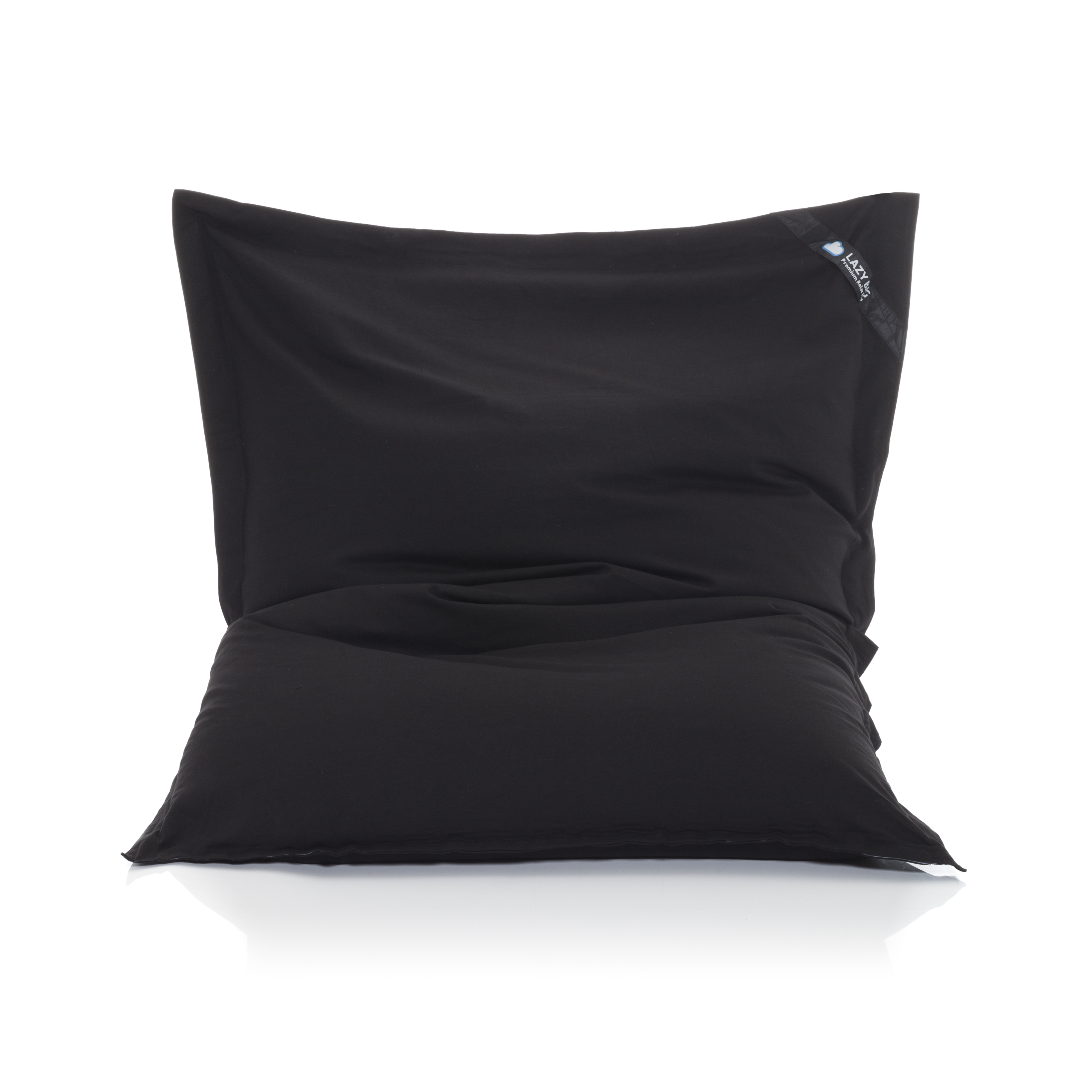lazy bag xxl sitzsack aus baumwolle sitzkissen in 12 farben. Black Bedroom Furniture Sets. Home Design Ideas