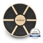 Balance Board Deluxe Therapykreisel aus Holz von Body & Mind