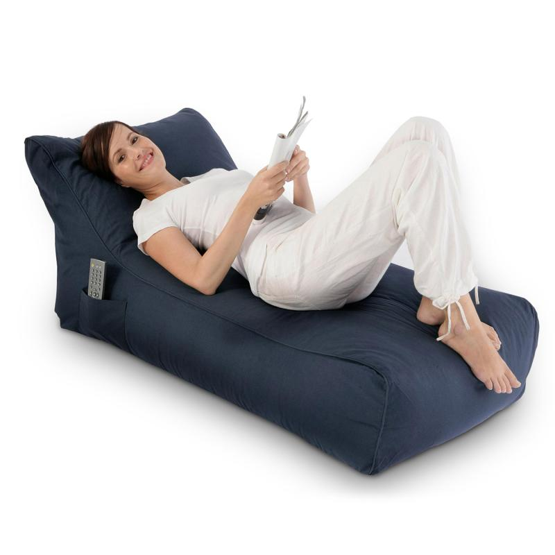 Sitzsack Lounge Daybed indigo blau