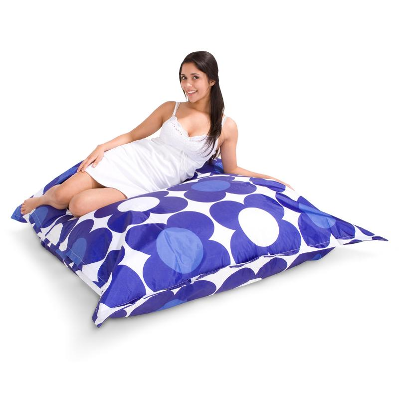 Sitzsack Nightflower blau