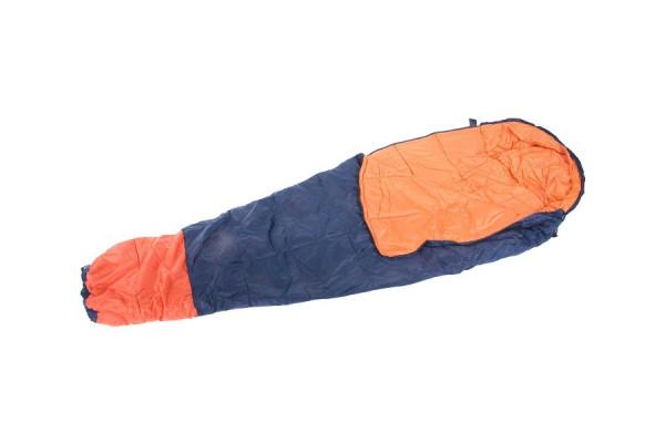 Mumien-Schlafsack bis -10°C – mit guten Thermoeigenschaften