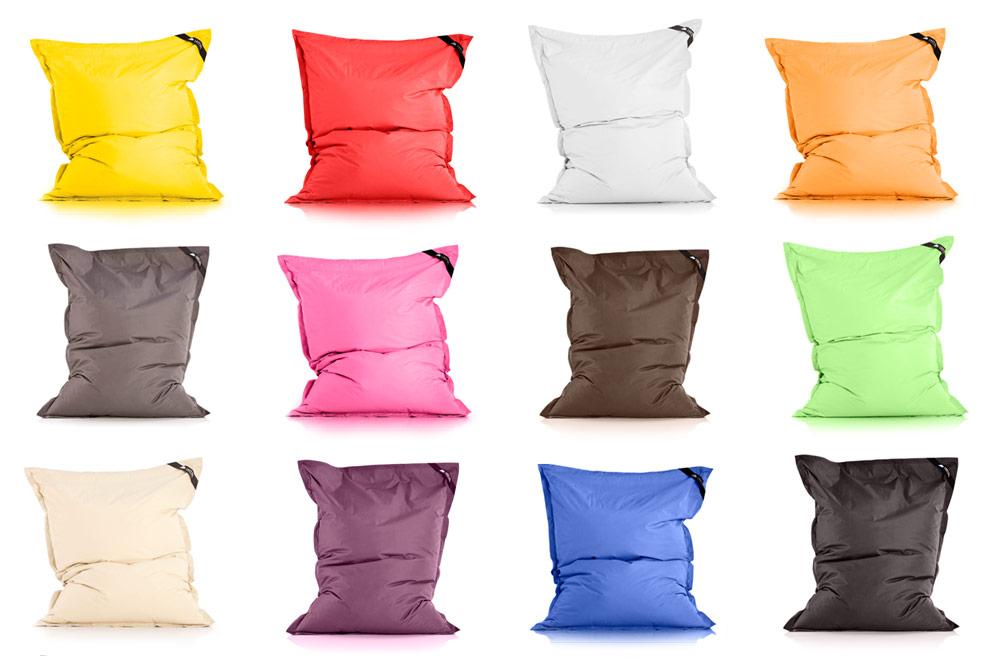 lazybag sitzsack premium sitzkissen mit hochwertiger f llung. Black Bedroom Furniture Sets. Home Design Ideas