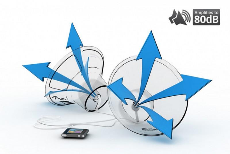 Silikon Lautsprecher Verstärker für Kopfhörer