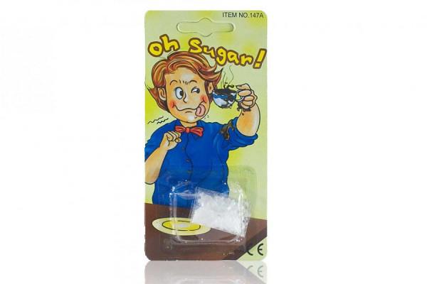 Schäumender Zucker Falsches Zuckerpulver