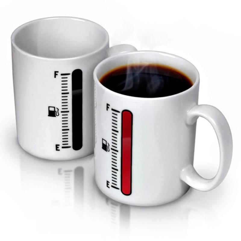 Thermo Tasse mit Thermoaktiver Füllstandsanzeige