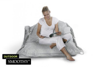 Smoothy Sitzsack Outdoor Supreme in Stein-Grau