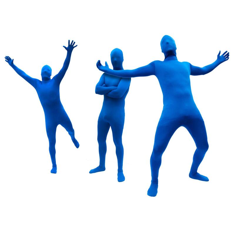 Morph Anzug Suit Blauer Anzug