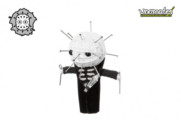 Voodoo Puppe Pin Skull Voomates Doll