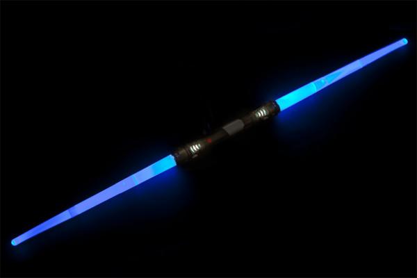 Doppel-Lichtschwert - Laserschwert mit Licht, Vibration & Sound