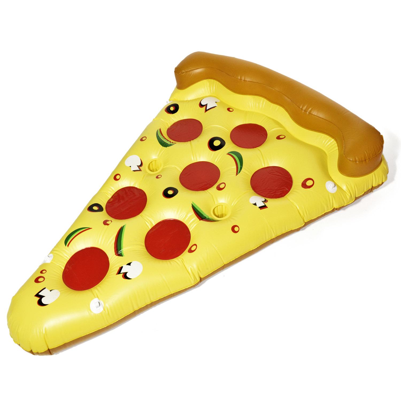 aufblasbare matratze pizza luftmatratze pizzast ck 180x140cm. Black Bedroom Furniture Sets. Home Design Ideas