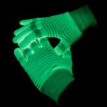 Handschuhe - Hand Schuhe fluoriszierend f. Partys - Geheimshop.de