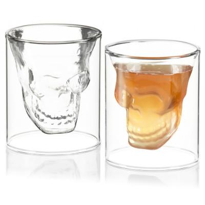 Totenkopf Schnapsglas - Doomed Shot aus Glas - Geheimshop.de