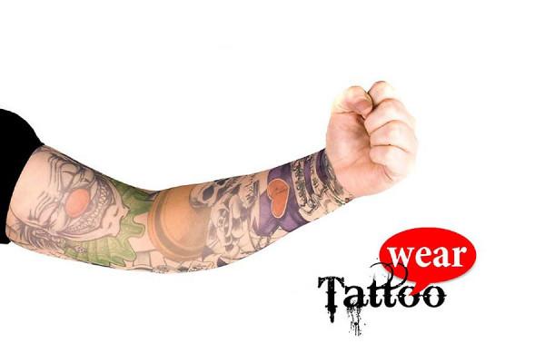 Tattoo Ärmel - Tattooärmel für Karneval & Party - Evil Clown