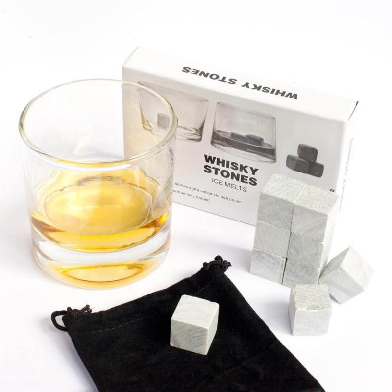 Whiskey Stones aus Speckstein