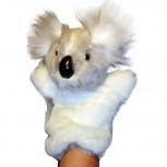Handpuppe - Handspielpuppe aus Plüsch - Koala-Bär