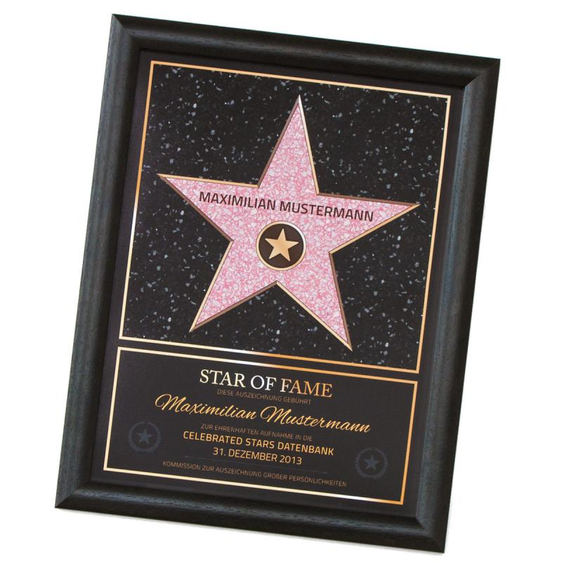 Star of Fame Hollywood Stern