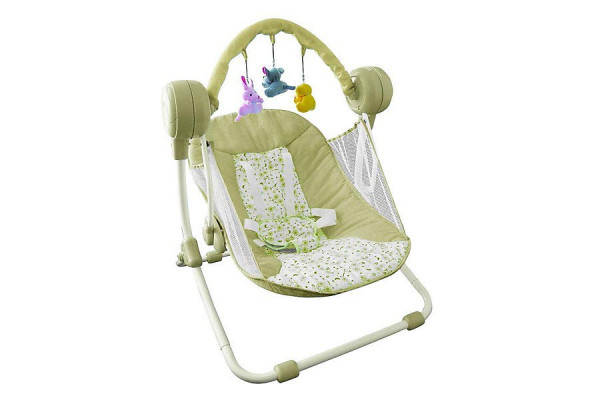 Elektrische Babyschaukel - Automatik Baby-Wiege - Geheimshop.de