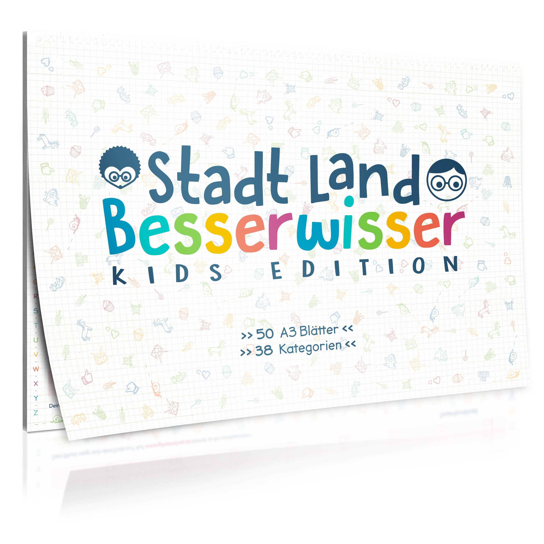 Stadt, Land, Besserwisser KIDS - der ultimative Rätselspaß in XXL ...
