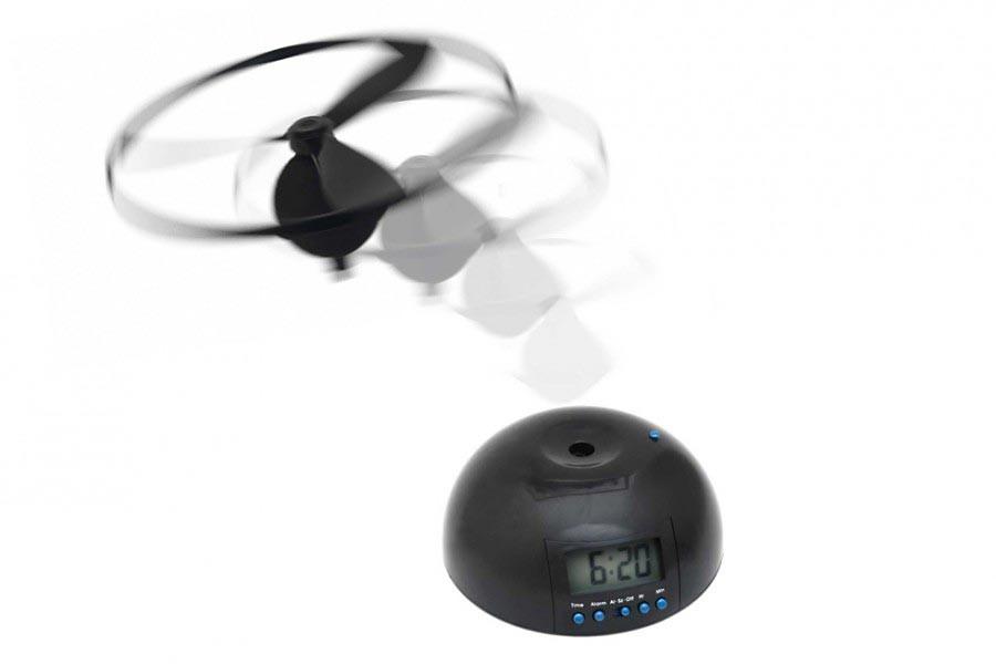 Fliegender Wecker mit Ufo Hubschrauber » Shop » günstig kaufen!