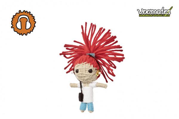 Voodoo Puppe - Voodoopuppe zum Sammeln - Music Girl
