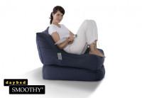 Smoothy Sitzsack - Sitzkissen Liege Lounge Folder - Blau