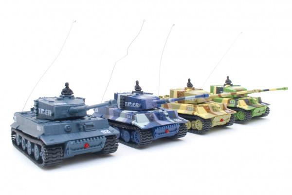 Mini RC Panzer: Ferngesteuerter Modellbau Kampfpanzer