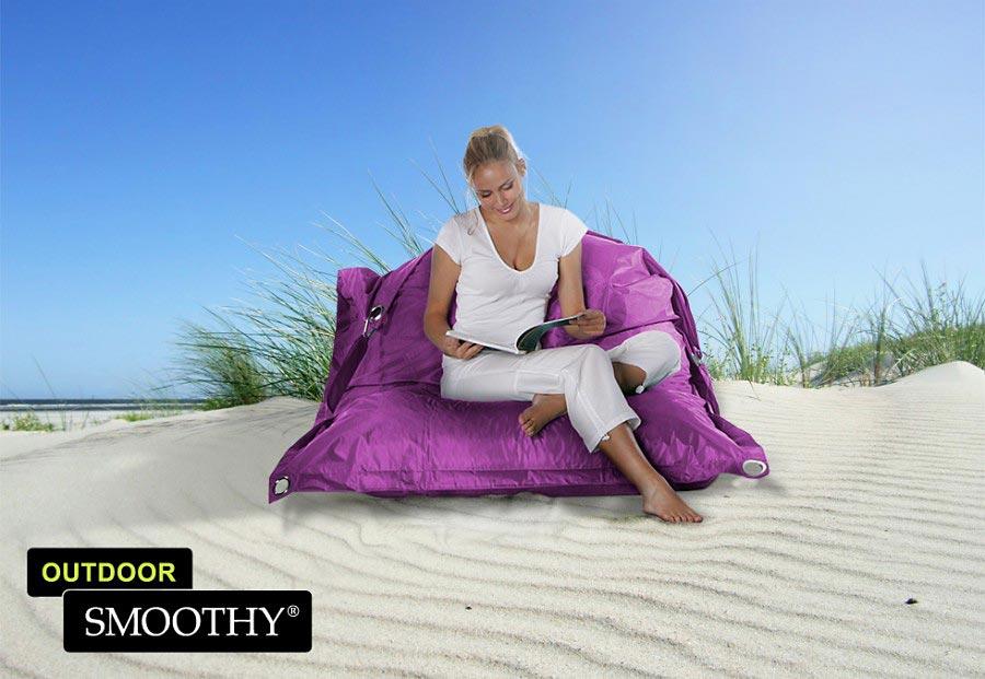 smoothy sitzsack outdoor supreme in amethyst violett. Black Bedroom Furniture Sets. Home Design Ideas