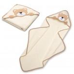 Kapuzenhandtuch für Kinder - Baby Handtuch mit Kapuze - Bär