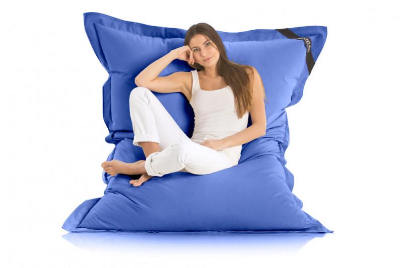 Sitzsack Blau