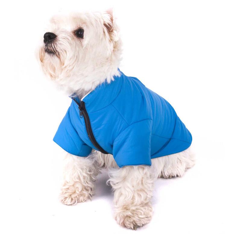 Hundejacke - Regenmantel für Hunde blau - Geheimshop.de