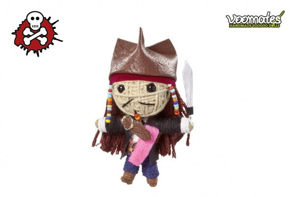 Voodoo Puppe Pirate Captain Piraten Kapitän Voomates Doll