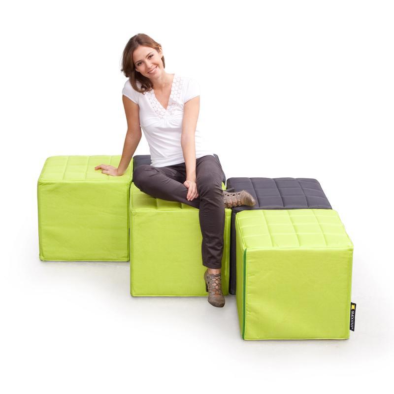 Cube Sitzwürfel Grün