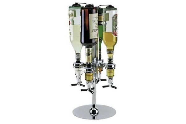 Flaschenhalter 4-fach Flaschenbutler Gastro Halterung