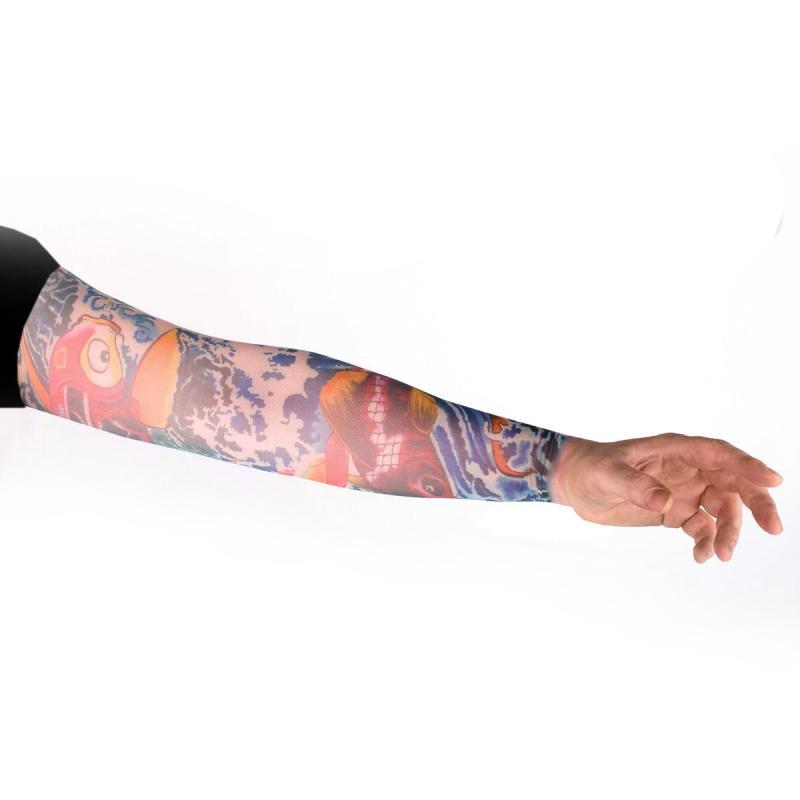 Tattoo Ärmel - Tattooärmel für Karneval & Party - Flying Fish