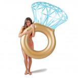 Aufblasbarer Diamantring Schwimmreifen - Diamant Schwimmring XXL