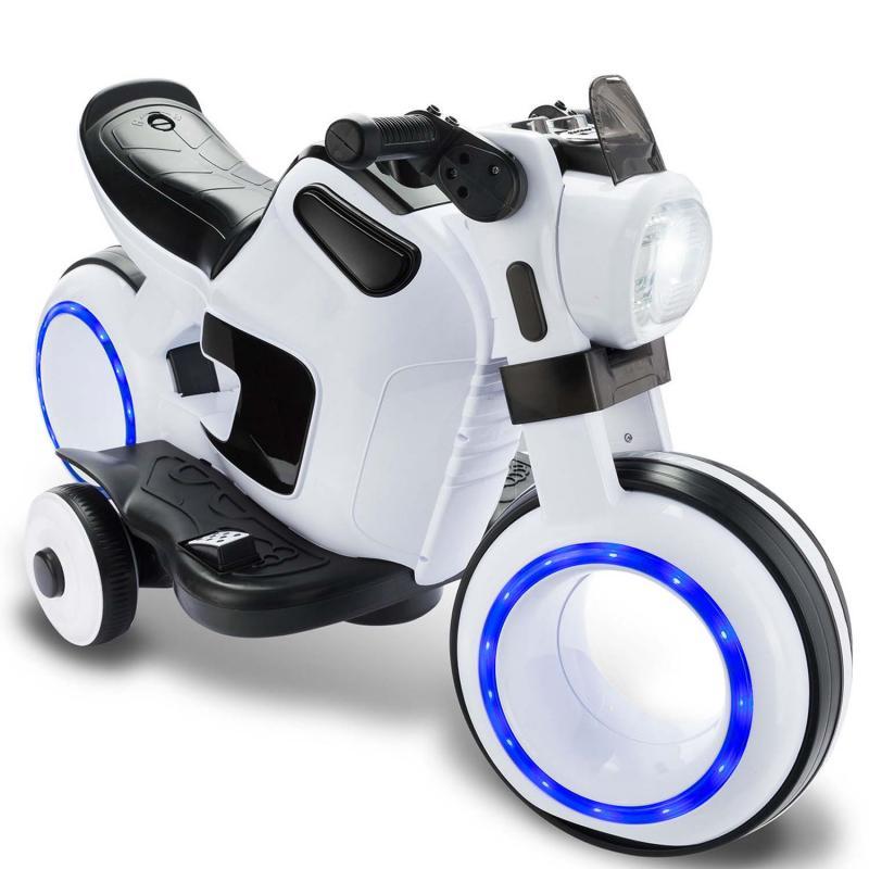 elektrisches Kindermotorrad mit LED Licht MP3 und Sound