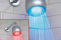 LED Duschkopf - Duschbrause m. Farbwechsler - Geheimshop.de