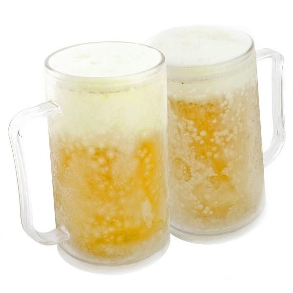 Gefrorener Bierkrug Kühlbecher für kalte Getränke » 24 Versand