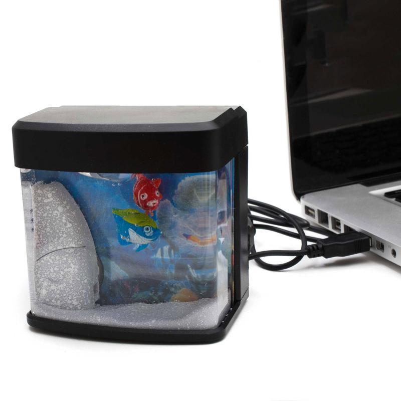 USB Aquarium Fish Tank beleuchtet