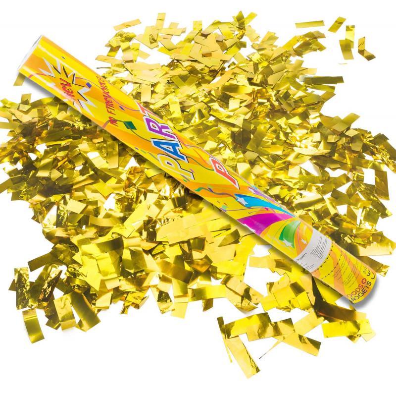 Gold Konfettikanone