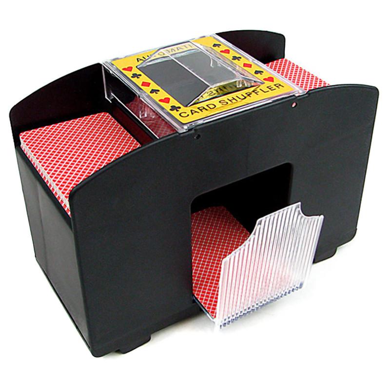 Elektrischer Kartenmischer bis zu 4 Decks